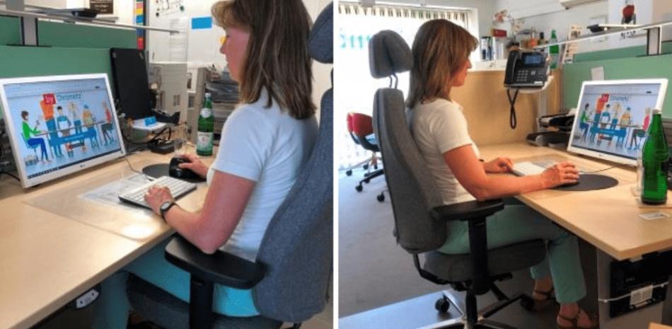 gesunde PC-Arbeitsplaetze